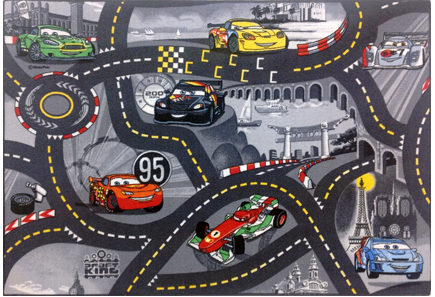 "Image for Disney ""World of Cars 2"" -liikennematto 95x133 cm from Kodin Terra"