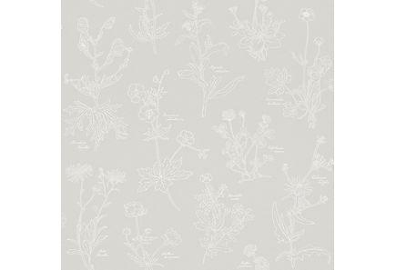 Image for Simple Nature tapetti gray flowers 273709 10,05m from Kodin Terra