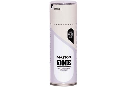 Image for Maston spraymaali 400ml Kermanvalkea, RAL 9001 from Kodin Terra