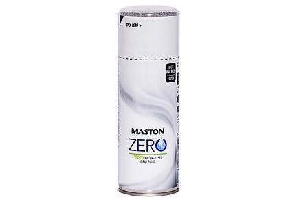 Image for Maston Spraymaali Zero Valkoinen 400ml from Kodin Terra