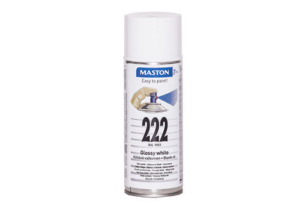 Image for Maston spraymaali 400ml valkoinen 222, RAL 9003 from Kodin Terra