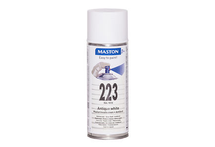 Image for Maston spraymaali 400ml maalarin valkoinen 223, RAL 9010 from Kodin Terra