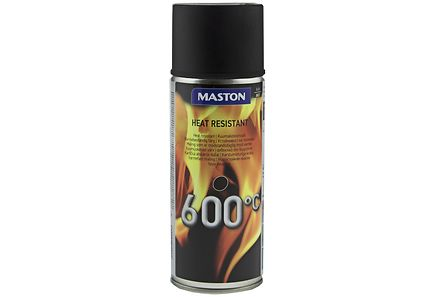 Image for Maston kuumakestomaali spray 600C 400ml musta from Kodin Terra