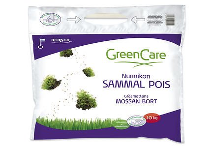 Image for GreenCare 10kg Nurmikon Sammal Pois from Kodin Terra