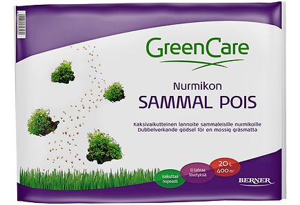 Image for GreenCare nurmikon sammal pois 20 l from Kodin Terra