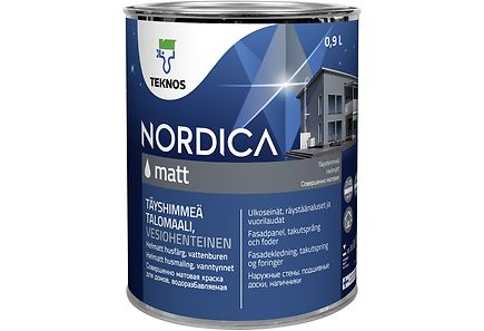 Image for Teknos Nordica Matt talomaali PM1 0,9l from Kodin Terra