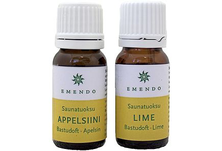 Image for Emendo Saunatuoksut Appelsiini ja Lime 2 x 10 ml from Kodin Terra