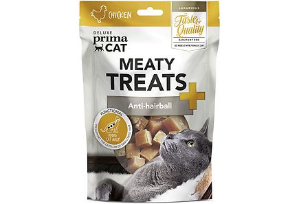 Image for Deluxe PrimaCat Meaty Treats - Anti-hairball 30 g from Kodin Terra