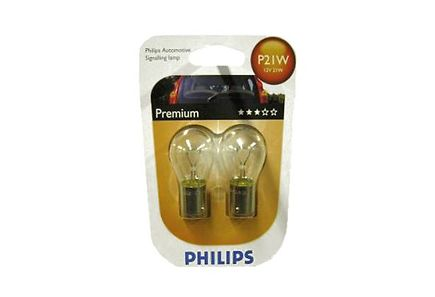 Image for Philips P21W Premium autolamppu 12V 21W 2kpl from Kodin Terra