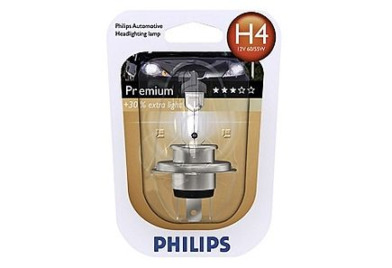 Image for Philips H4 Premium autolamppu 12V 60/55W from Kodin Terra