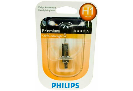 Image for Philips H1 Premium autolamppu 12V 55W from Kodin Terra